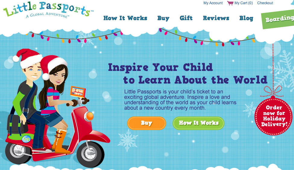 Little Passports -- SpanglishBaby's 2013 Holiday Gift Guide for Bilingual Kids