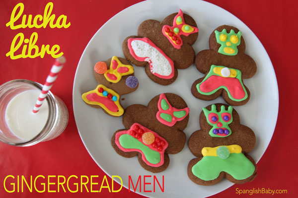 lucha libre gingerbread men recipe
